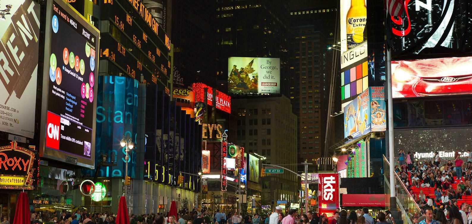 Crowne Plaza Times Square Room Service Menu